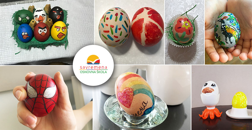 Easter egg masterpieces