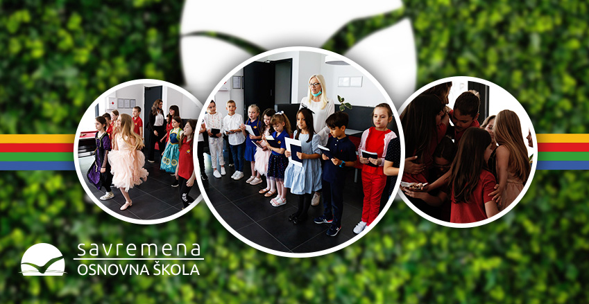 The grandest moment of the year – the diploma award ceremony with Savremena's primary school students