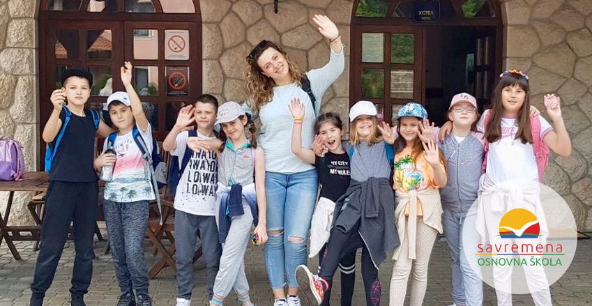 Zlatibor, a big green classroom for Savremena's primary students