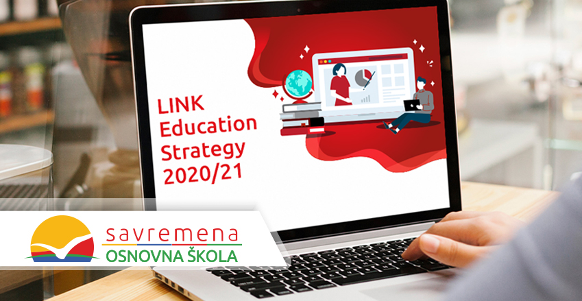 Lessons at Primary school Savremena in line with the global standards of the LINK Strategy